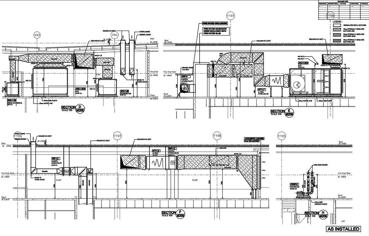 Architectural Drafting Services Enravelnet Hvac Cad Drawing